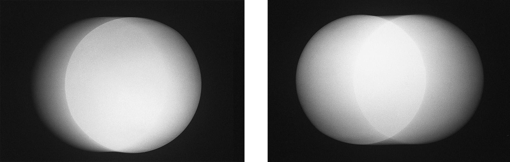 003 Rogier Houwen, Moon I & II